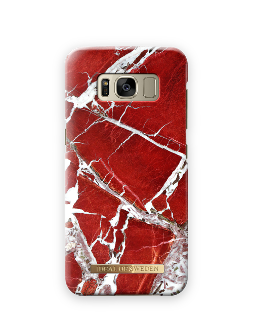 Scarlet Red Marble