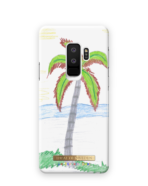 Crayon Palm Tree