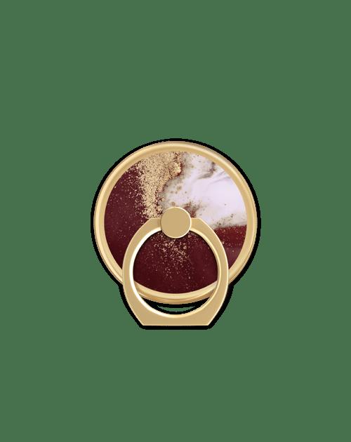 Golden Burgundy Marble