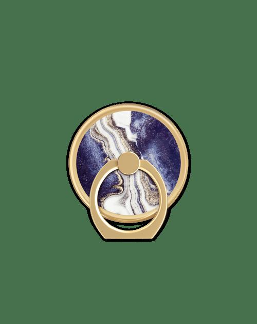 Golden Indigo Marble