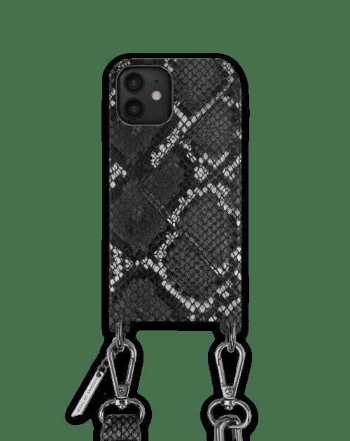 Black Silvery Snake
