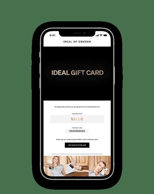 IDEAL Digital Gift Card