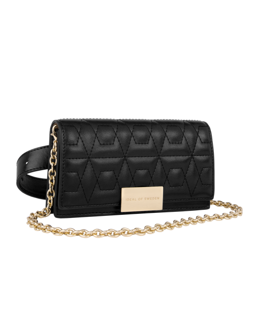 Quilted Black Gold
