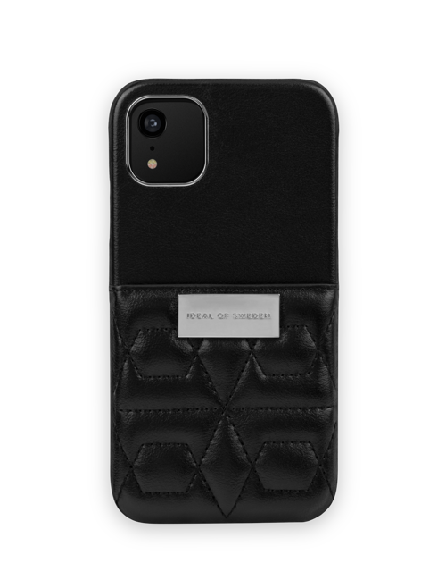 Quilted Black - Mini Pocket